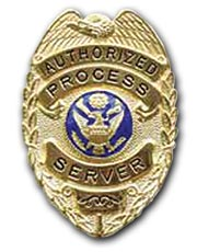 Maui Process Server Badge